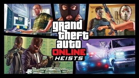 GTA Online: Ограбления – новый трейлер