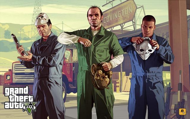 GTA V на первом месте по продажам в Steam