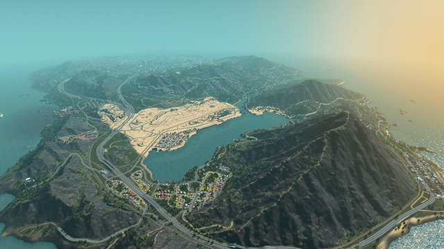 Мир GTA V в Cities: Skylines