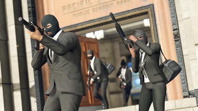 GTA Online: Ограбления – прямые трансляции!