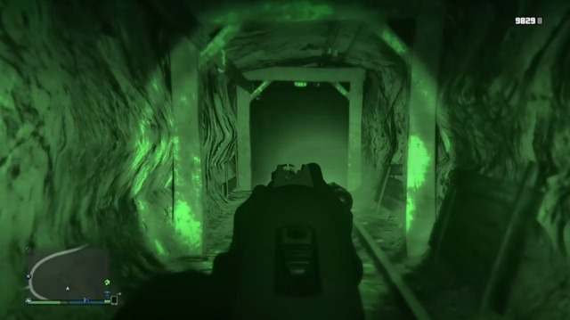 Огненный призрак в GTA V