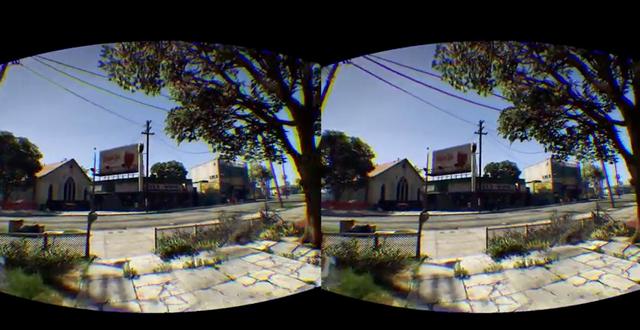 GTA 5 с Oculus Rift