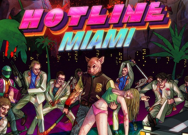 Видео GTA V: Hotline Miami