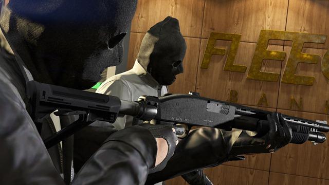 GTA Online: Ограбление The Fleeca Job