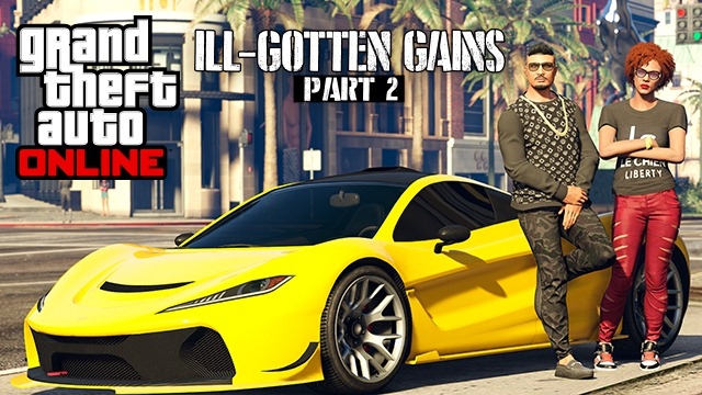 """GTA Online: Обновление """"Грязные деньги"""" (Часть 2) выйдет 8 июля"""
