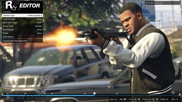 Видео редактор GTA 5 в сентябре появится на PS 4 и Xbox One