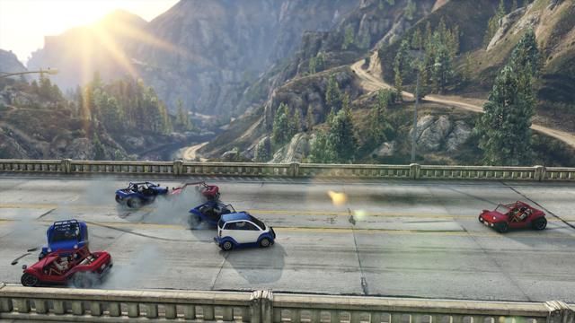 GTA Online: Бег назад 2